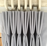 Making a Triple pleat lined curtain